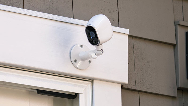 security camera placement